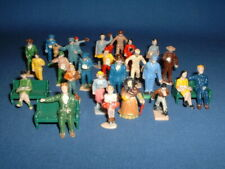 Vintage American Flyer Scale Plastic Christmas Putz Railroad Train Figures (28)