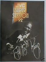 ROBERT CRAY / B.B. KING session 1992 tour programme 16 pages