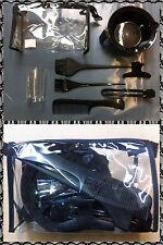 SIBEL Evolution 7-piece hairdressers tint/colour set bowl combs etc - Black