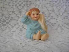 Miniature Dollhouse Cast Doll Figure  / Baby Zachary