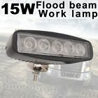 15W Black Flood LED Work Light Lamp Car Off road boat Truck Driving ATV 12V 24V