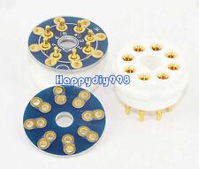 10 pcs  DIY PCB  for 8 pins tube sockets For CMC 8Pin EL34 6550 KT88 6SN7 6CA7