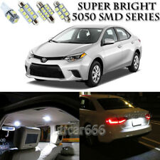 For Toyota Corolla 2003-2014 Xenon White LED Interior kit + License Plate Light