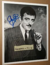 John Astin Signed Gomez Addams Autograph COA The Addams Family