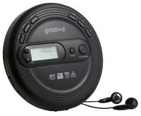 Groov-e - GV-PS210-BK - Black Personal Cd Player With Fm Radio