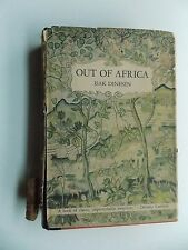 Out of Africa by Isak Dinesen (HCDJ 1938) stated 1st edition Random House