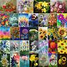 5D DIY Diamond Painting Flowers Cross Stitch Embroidery Mosaic Craft Kits Decor
