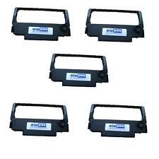 5 Pack inchiostro stampante multifunzione ERC 30 / 35 / 38 NERO gratis P&P