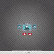 0129 Columbus Genius Custom Wilier Bicycle Stickers - Decals