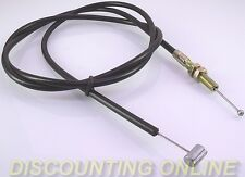"NEW GO CART MINI BIKE 56"" BRAKE THROTTLE CABLE BARREL & BALL ENDS SMOOTH ACTION"