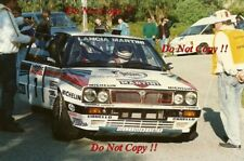 Didier Auriol Lancia Delta Integrale Tour De Corse Rally 1989 Photograph 1