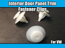 20x Clips For VW Sharan Interior Door Panel Trim Fasteners White Plastic