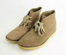 BANANA REPUBLIC Men's 11 - BROWN DESERT TAN SUEDE LEATHER CHUKKA ANKLE BOOTS