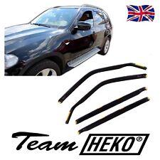 DBM11140 BMW X5  E70 5 DOOR 2006-2012 WIND DEFLECTORS 4pc HEKO TINTED