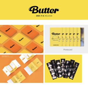 BTS BUTTER PHOTO CARD MESSAGE CARD WEVERSE-SHOP PRE-ORDER PHOTO CARD 4 CUT PHOTO