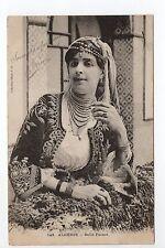 AFRIQUE DU NORD scenes et types ALGERIE jeune beauté belle fatma