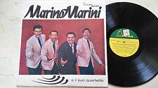 MARINO Marini e il suo quartetto * ORIGINAL ITALIAN PRESSING * VINILE LP *