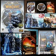 PC GAME BLIZZARD★WORLD OF WARCRAFT Wrath of the Lich King★RETAIL PACK 10DAY CODE