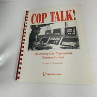 1992 cop talk monitoring law enforcement communications Manual Handbook (a20)