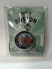 Kikkerland Compass with City of Boston for Urban Explorers Collectible