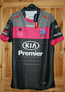 Rochdale Hornets 2018 Away Rugby League Shirt Top  New with Tags - Medium