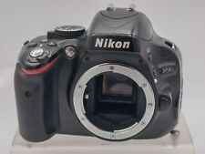 209K Shutter Count - Nikon D5100 16.2mp Digital SLR Camera Body Only *Read*
