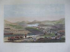 gravure originale napoleon combats de somo sierra 1808  vers 1850 yung Lalaisse