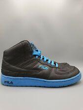 Mens Fila Hightops Mens Size UK 8 / US 9 Black Retro Vintage Rare Shoes Trainers