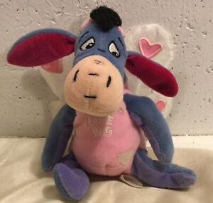HTF Walt Disney Co. Lovebug Eeyore Plus, Winnie The Pooh, Euc
