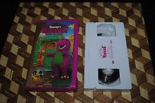 Barney Come on Over to Barney's House VHS 2000 PBS Kids Clamshell Lyons 2000
