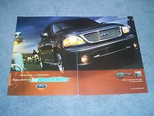 "2003 Ford F-150 Harley-Davidson Edition 2pg Ad ""...No Boundaries"""