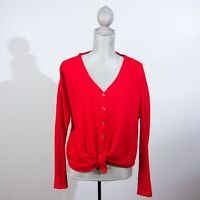 Urban Outfitters Out From Under Womens Cardigan Sweater Size XS Red