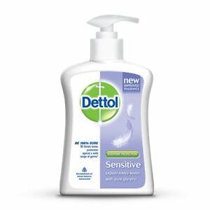 Dettol Sensitive Liquid Hand Wash Germ Protection Free Shipping 200 Ml