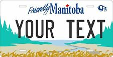 Manitoba 1997 license plate Tag Personalized Auto Car Custom VEHICLE OR MOPED