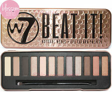W7 BEAT IT! Eyeshadow Eye Shadow Palette Makeup Kit Set Natural Nudes Bronze