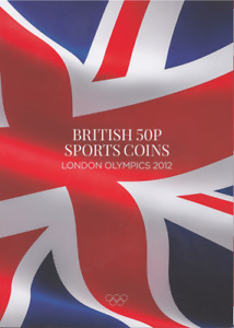 London Olympic 2012 50p Coins Sports Coin Hunt Collectors Album Fifty Pence WE