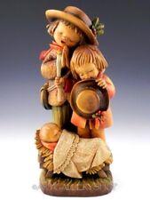 "Anri Ferrandiz Italy Figurine 12"" Adoration Nativity Baby Jesus Carved Wood"