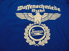 "Waffenschmiede Suhl ""Adler"" T-Shirt S51 S50 Schwalbe DDR Zweirad Simson RA S DR"