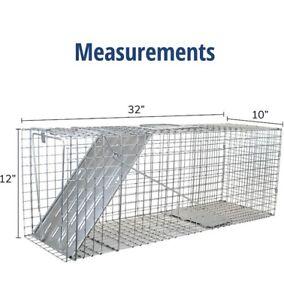 Havahart 1079 1 door Large humane animal trap For Raccoons, Groundhogs, Oposs