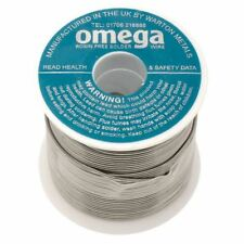 Warton Metals Omega 63/37 Low Residue 1% Flux Solder Wire 20SWG 0.914mm 500g