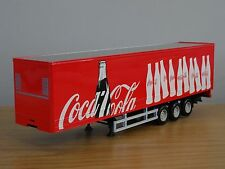 CARARAMA COCA COLA COKE FRIDGE BOX TRUCK TRAILER MODEL CR043CC 1:50