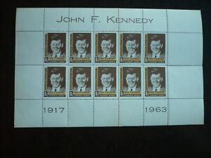 Stamps - Dominican Republic - Scott# C137 - Souvenir Sheet of 10 Stamps