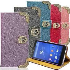 Phone Case for Sony Xperia Skull Protective Sleeve Pouch Flip Cover Wallet Bag