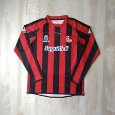 appleton boys afc match worn jersey football shirts long sleeve size m