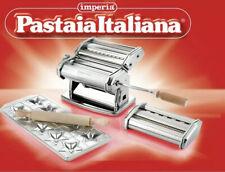 Set Pastaia Italiana Imperia Pasta Machine Pasta Noodle Machine Pates - Full Kit