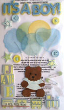 Jolee's Boutique Blue Scrapbooking