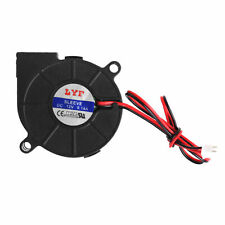 DC 12V 50mmx15mm 2-Pin 0.14A Computer PC Sleeve-Bearing Blower Cooling Fan 5015