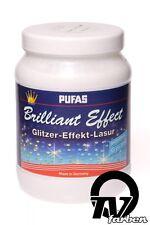 Pufas Brilliant Effekt 1,5l Effekt-Lasur Kreativ-Lasur, Glitzer-Effekt