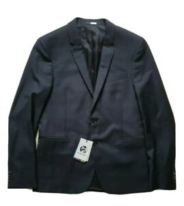 PAUL SMITH JACKET UNSTRUCTURED BLAZER NAVY CHECK SIZE 40 RRP £360 NEW WITH TAGS
