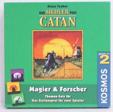 Magier & Forscher Themenset für das Kartenspiel - Die Siedler von Catan, Neu, Ka